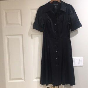 Dresses & Skirts - Classy button down black dress